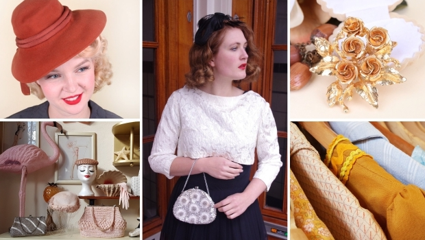 Vintage partygirls Bobby Pin Boutique go with the vlo