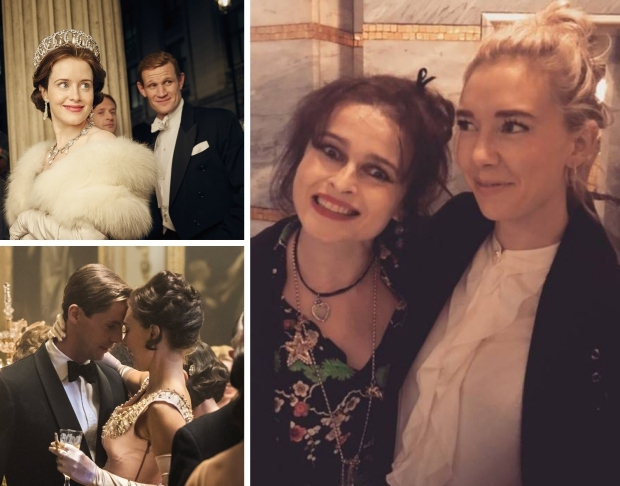 The Crown 3 Helena Bonham Carter Vanessa Kirby go with the vlo