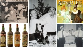 Vintage drank alcohol absint nieuwjaar 2019 go with the vlo