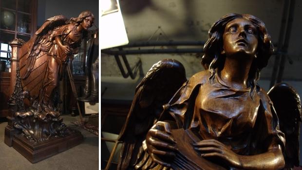 Vivre Interieur Authentique preekstoel Normandië go with the vlo