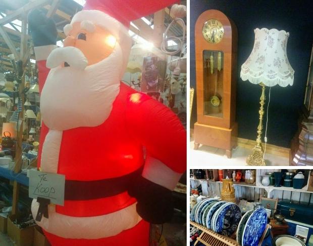 Vrije Markt Wamel kerstman vlooienmarkt go with the vlo