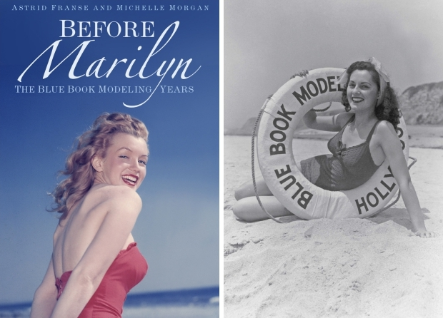 Before Marilyn The Blue Book Modeling Years go with the vlo
