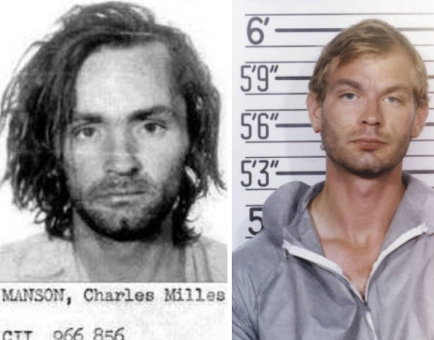 Charles Manson Jeffrey Dahmer seriemoordenaar go with the vlo