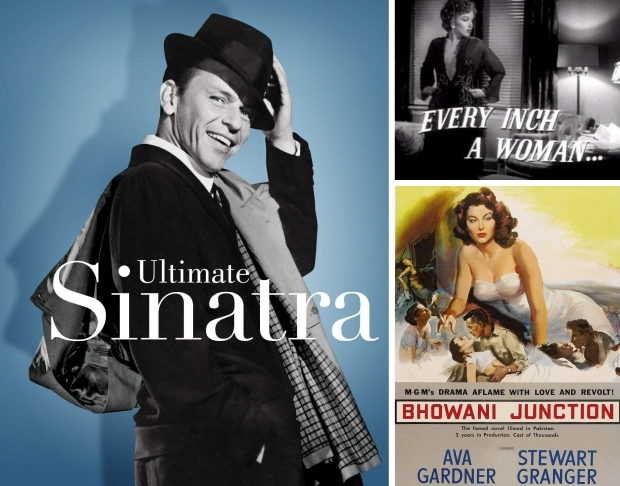 Frank Sinatra Marilyn Monroe Ava Gardner go with the vlo