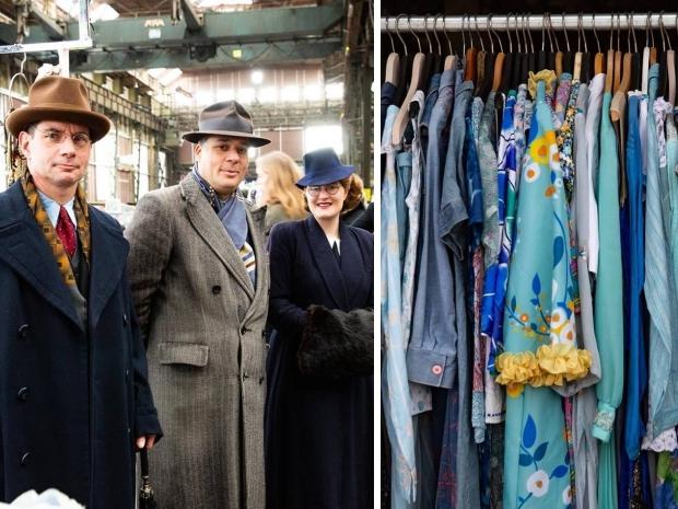 IJhallen vlooienmarkt tweedehands kleding go with the vlo