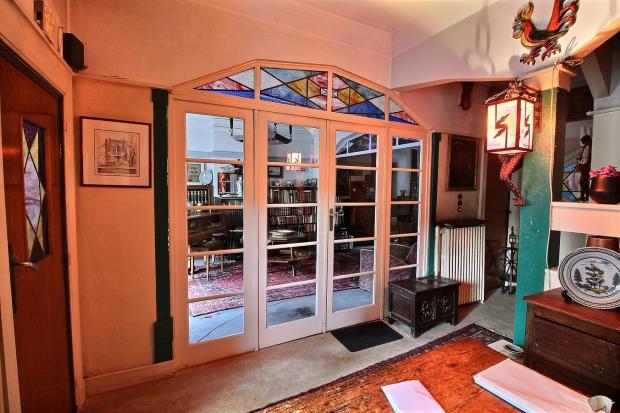 Jette België art deco huis glazen deuren go with the vlo