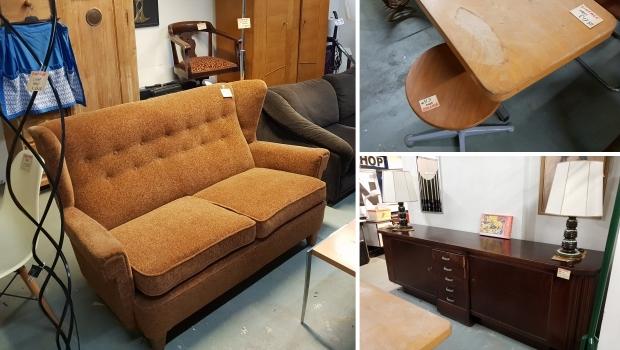 Vintage meubels kringloop Gewoon Goed Schiedam go with the vlo