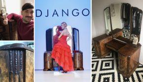 Wie heeft interesse in Django's te gekke kaptafel?