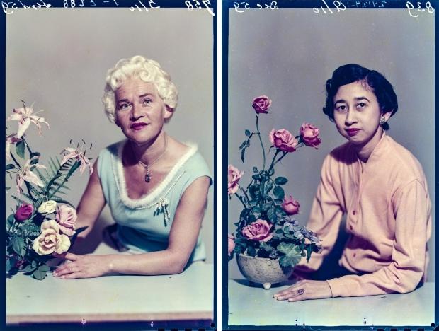 Ernst Lalleman bloemstukjes Foto Americain go with the vlo