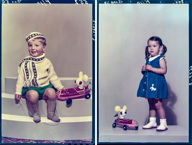 Ernst Lalleman Foto Americain kinderen jaren vijftig go with the vlo