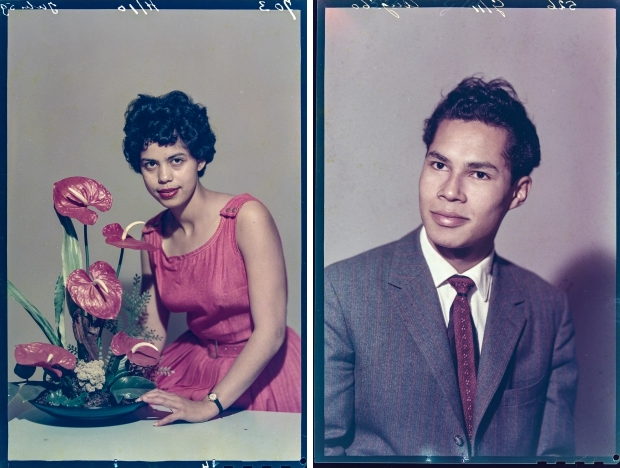 Ernst Lalleman Wie zijn wij Foto Americain bloemstuk go with the vlo