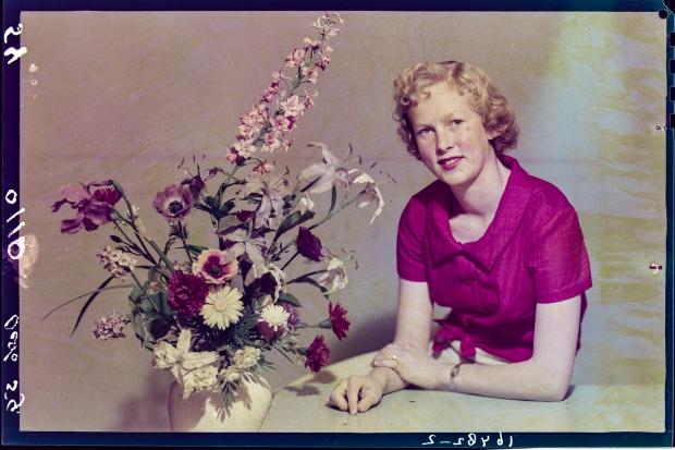 Foto Americain foto bloemstuk Ernst Lalleman wie zijn wij go with the vlo