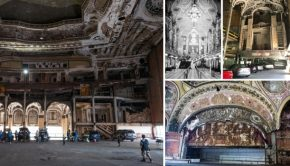 Michigan Theatre Detroit verlaten gebouw urban explorer go with the vlo