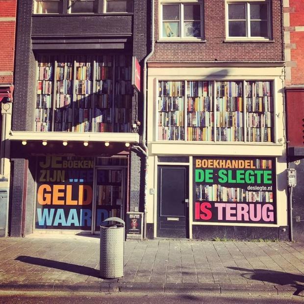 Amsterdam De Slegte Vijzelstraat keert terug go with the vlo