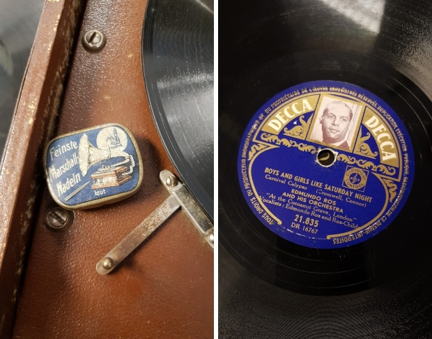 Edmundo Ros grammofoon Sonora kringloop Gewoon Goed Schiedam go with the vlo