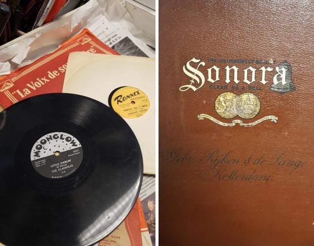 Grammofoon Sonora Gebr Rijken de Lange Rotterdam go with the vlo