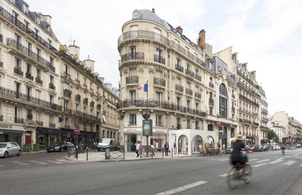 SAME Architects Croix Rouge Parijs metrostation go with the vlo 4