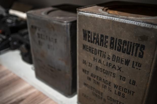 Sander Nagel collectie Tweede Wereldoorlog biscuits verzamelen go with the vlo