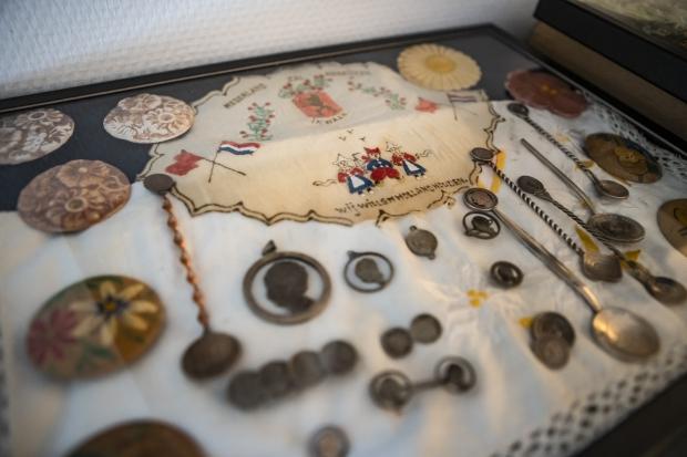 Sander Nagel collectie Tweede Wereldoorlog lepeltjes verzamelen go with the vlo