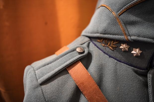 Sander Nagel collectie Tweede Wereldoorlog uniform go with the vlo