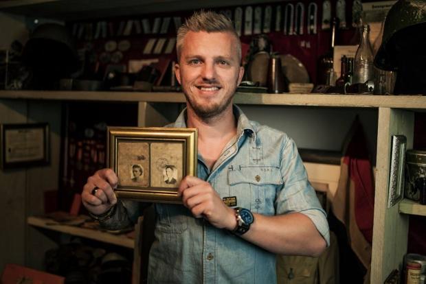 Sander Nagel collectie Tweede Wereldoorlog verzamelen go with the vlo 2
