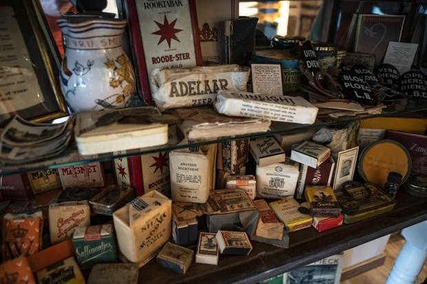 Sander Nagel collectie Tweede Wereldoorlog zeep verzamelen go with the vlo