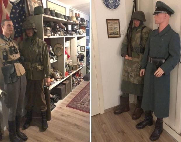 Sander Nagel verzamelaar Tweede Wereldoorlog go with the vlo