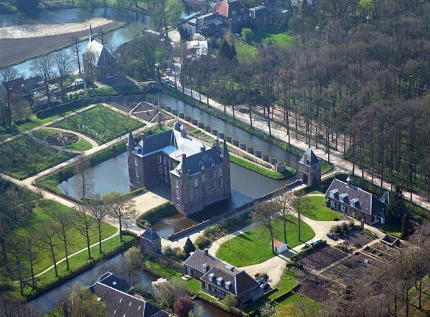 Slot Zuylen luchtfoto vacature beheerder go with the vlo
