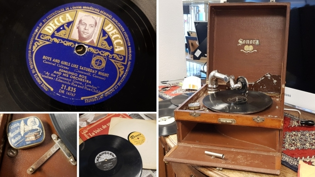 Sonora grammofoon kringloop Gewoon Goed Schiedam go with the vlo 2