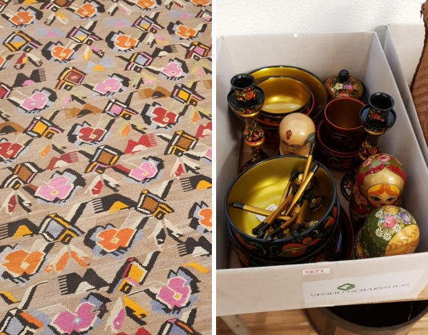 Vendu Rotterdam algemene veiling tapijt go with the vlo