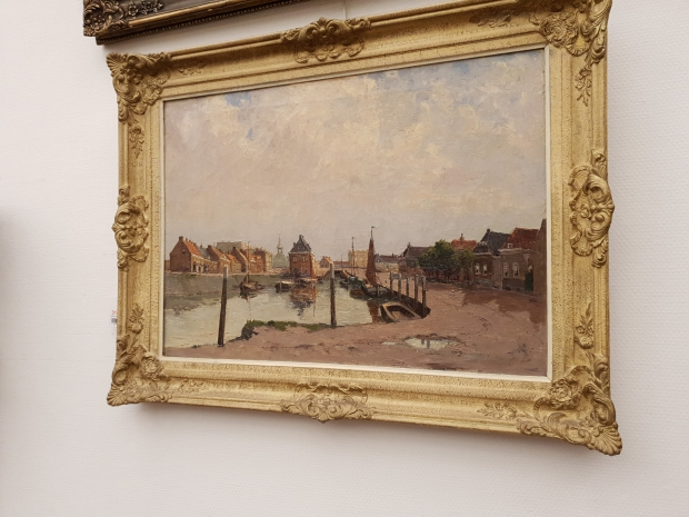 Vendu Rotterdam schilderij Willem Horselenberg go with the vlo