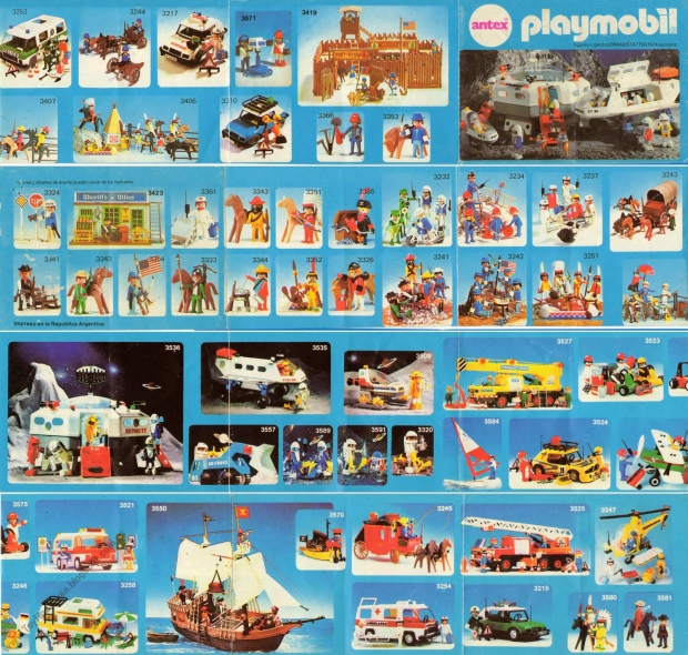 Vintage Playmobil catalogus jaren zeventig go with the vlo