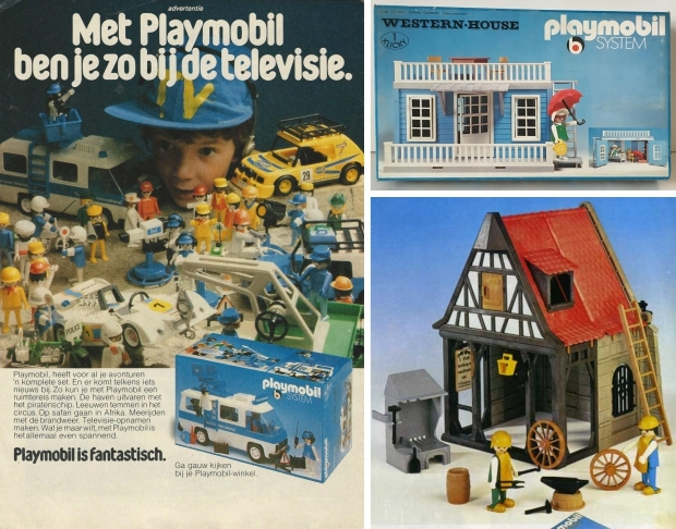 Vintage Playmobil jaren zeventig De Poppetjesshop go with the vlo