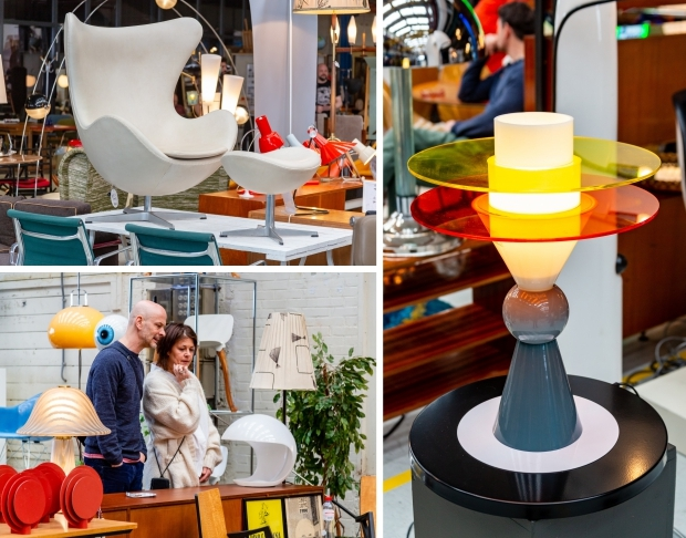 Design Icons Amsterdam vintage lampen go with the vlo