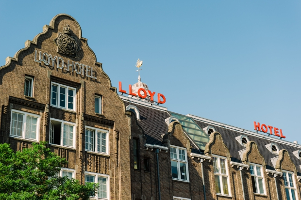 Lloyd Hotel Amsterdam Garage Sale go with the vlo