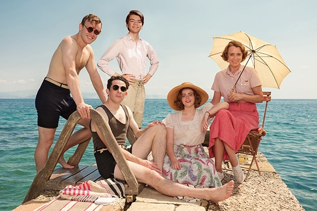 The Durrells seizoen vier serie Corfu Griekenland go with the vlo
