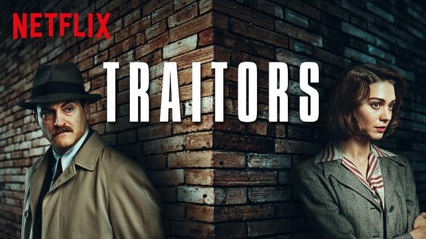 Traitors Groot-Brittannië Koude Oorlog serie Netflix go with the vlo