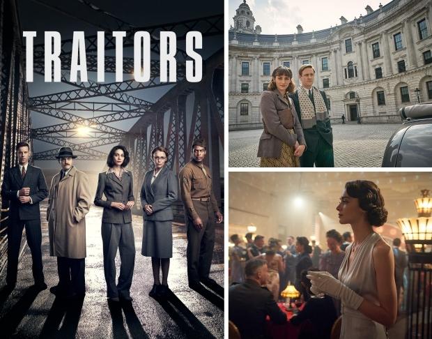 Traitors serie Netflix spionage go with the vlo