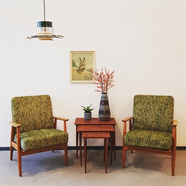 Vintage Asylum Scandinavische stoelen Design Icons go with the vlo