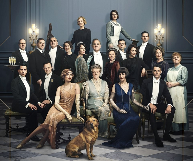 Downton Abbey film 2019 cast poster go with the vlo