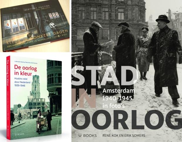 Fotoboeken Tweede Wereldoorlog Nederland kleur go with the vlo