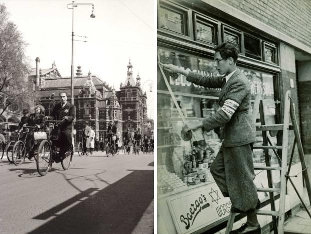 Jodenvervolging in foto's Joods Cultureel Kwartier Jodenster go with the vlo