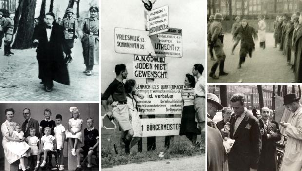 Jodenvervolging in foto's Nederland 1940-1945 boek expositie go with the vlo