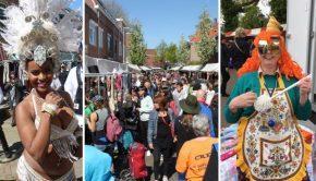 Lombok Straatfeesten Utrecht Bevrijdingsdag vlooienmarkt go with the vlo