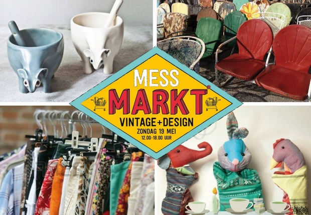 MESS Markt Harderwijk tweedehands vintage go with the vlo