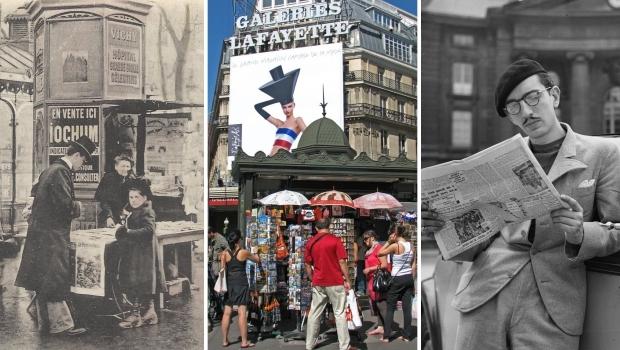Parijs krantenkiosken vervangen nostalgie kopen go with the vlo