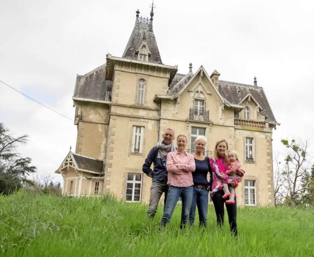 Chateau Meiland vervolg Martien kasteel opknappen go with the vlo
