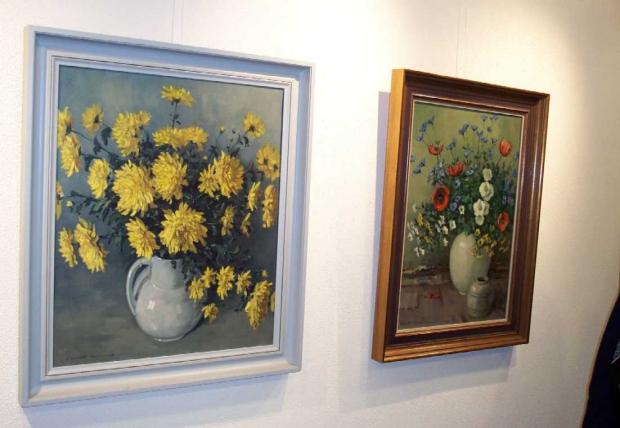 Clement Bezemer schilderij expositie go with the vlo