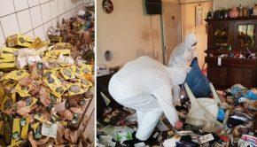 Huizen reinigen schoonmaken Frisse Kater poep go with the vlo
