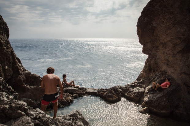Antikythera Grieks eiland nieuwe bewoners go with the vlo